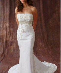 Style 2402 White Non-traditional Wedding Dresses