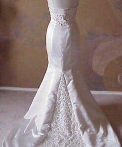 Chapel Length Train Wedding Gowns