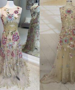 C2020-Jodi Parot - Vintage Style wedding gown replica from Darius Cordell