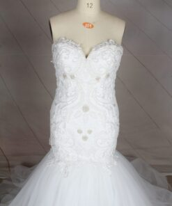 C2020-Nikema - Sweetheart plus size bridal gown from Darius Cordell