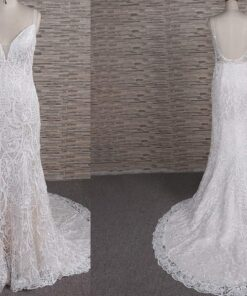 FB1102 backless lace wedding dress from darius cordell